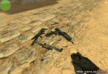 Pack моделей оружия выполненых в одном стиле для CS 1.6